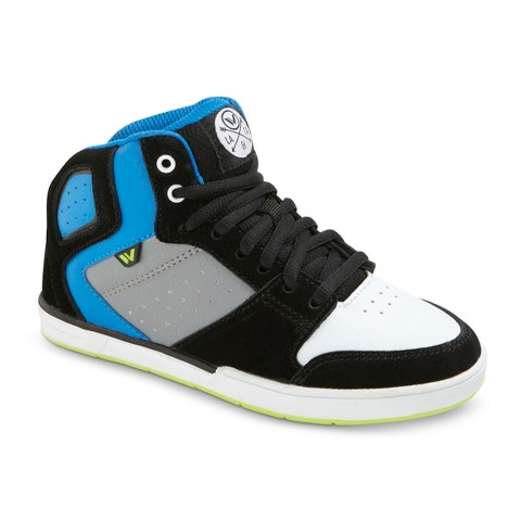 Boy's Shaun White® Fremont Leather High Top Sneakers - Black