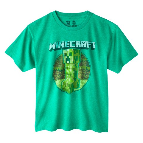 Minecraft Retro Creeper Boys' Tee by JINX