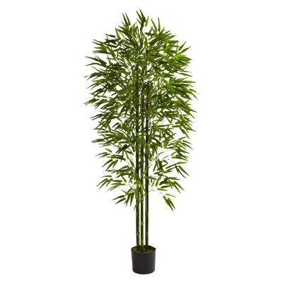Nearly Natural 6' Bamboo Tree UV Resistant (Indoor/Outdoor)