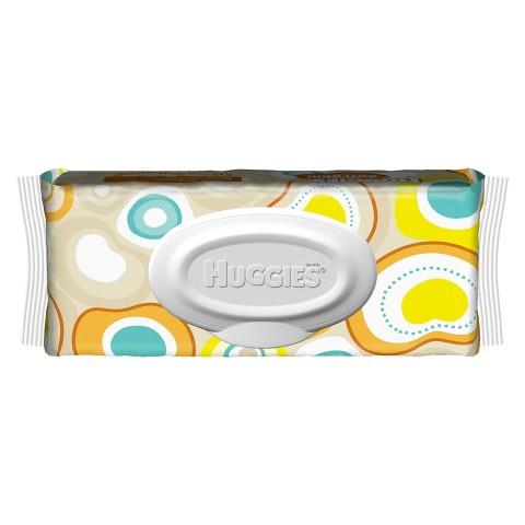 HUGGIES® Soft Skin Baby Wipes 56 Count Flip Top (Package of 8- 448 Total Wipes)
