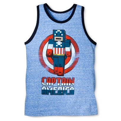 Lego® Captain America Boys' Tank - Blue