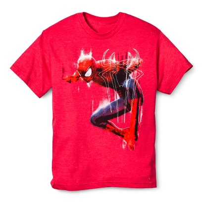 Spiderman Boys' Graphic Tee - Red
