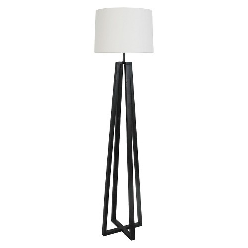 Threshold Metal Linear Floor Lamp Collection Includes Cfl