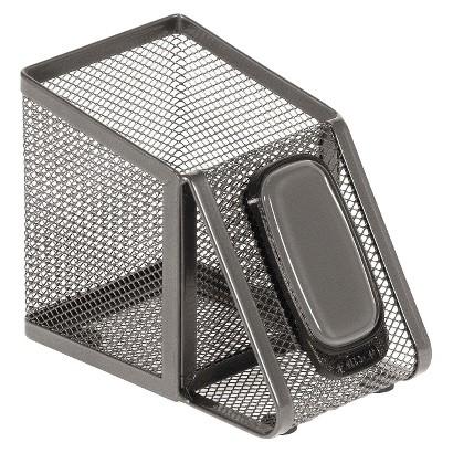Allsop® Metal Desk Tek Pen Cup - Gray