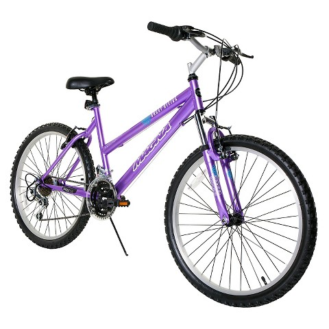 "Girl's Magna Great Divide Bike - Purple (24"")"