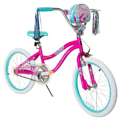 "Girl's Magna Precious Pearls Bike - Pink/Aqua (20"")"