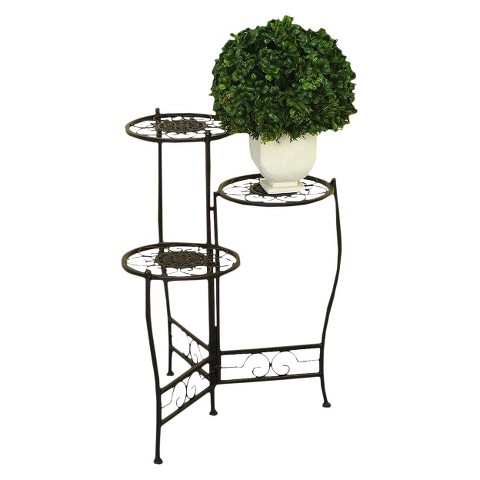 Iron Metal 3 Tier Plant Stand