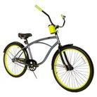 "Men's Rip Curl Cruiser Bike - Grey/Yellow (26"")"