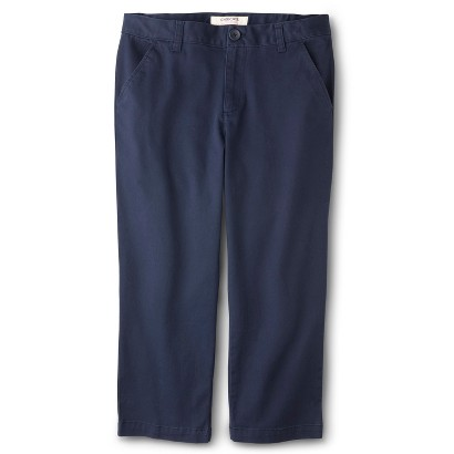Cherokee® Girls' School Uniform Capri Pant product details page