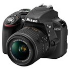 Nikon D3300 24.2 MP Digital SLR Camera with 18-55mm Lens - Black (1532)