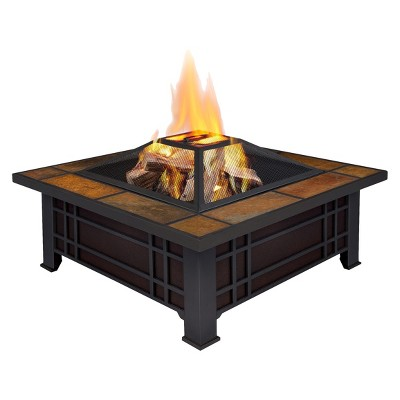 Real Flame Morrison Fire Pit