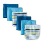 Circo® Newborn Boys' 6 Pack Washcloth Set - Dark Blue