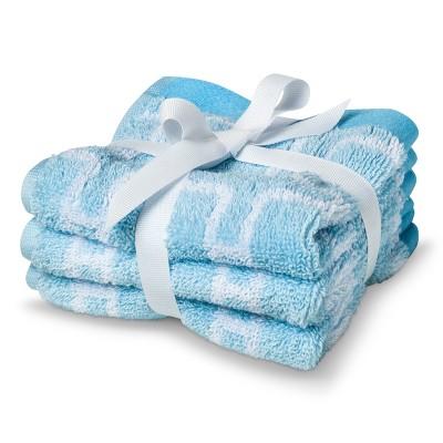Circo® Newborn 3 Pack Washcloth Set - Blue