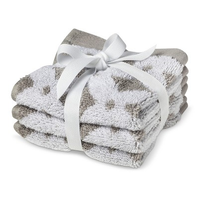 Circo® Newborn 3 Pack Washcloth - Grey