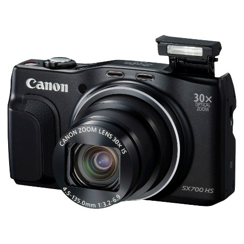 Canon PowerShot SX700 HS 16.1MP Digital Camera with 30X Optical Zoom