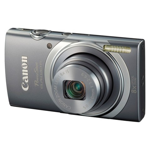 Canon PowerShot ELPH 140 IS 16MP Digital Camera with 8X Optical Zoom