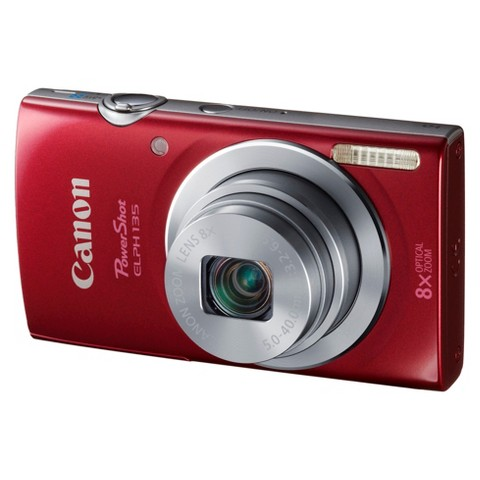 Canon PowerShot ELPH135 16MP Digital Camera with 8X Optical Zoom