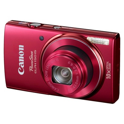 Canon PowerShot ELPH 150 IS 20MP Digital Camera with 10X Optical Zoom