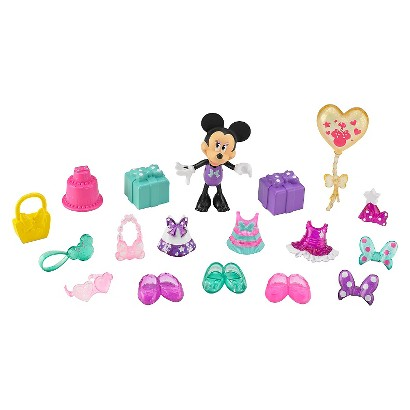 Minnie Mouse Birthday Surprise Fashion Dress-up Set