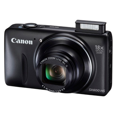 Canon PowerShot SX600 HS 16.1MP Digital Camera with 18X Optical Zoom