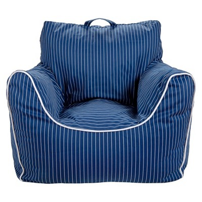 Bean Bag Chair - Navy Stripe - Pillowfort™