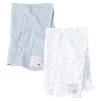 Burts Bees Baby™ Newborn Burp Cloth Set - Sky