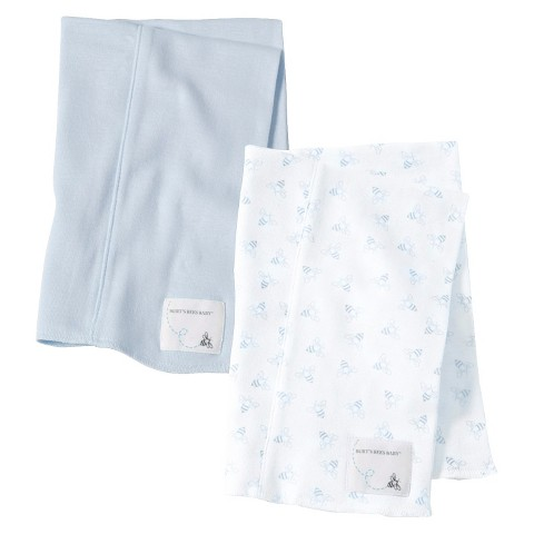 Burts Bees Baby™ Newborn Burp Cloth Set - Sky