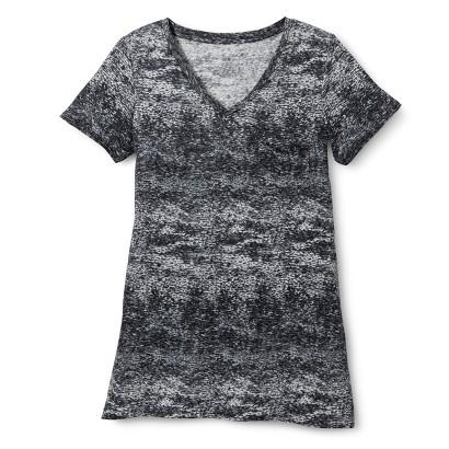 Women's Linen Drapey V Tee