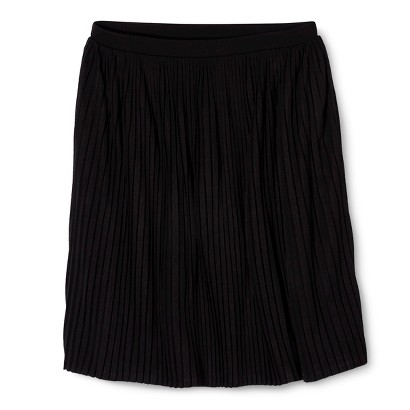 Mossimo® Women's Accordion Pleat Skirt - Assorted Colors