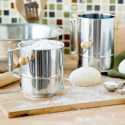 Fox Run Two Piece Flour Sifter Set