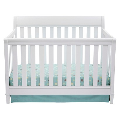 Delta Children Haven 4-in-1 Convertible Crib - White