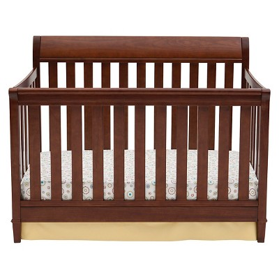 Delta Children Haven 4-in-1 Convertible Crib - Espresso Truffle