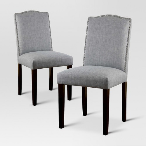 Target Dining Room Chairs: Camelot Nailhead Dining Chair - Threshold