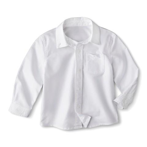 Cherokee® Toddler Boys' School Uniform Long-Sleeve Oxford Shirt