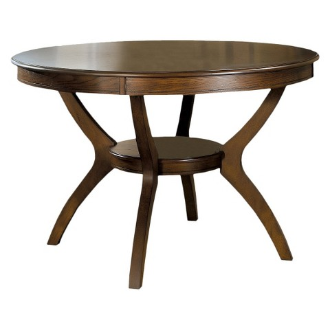 Ash Veneer Dining Table Dark Walnut Monarch Specialties Product