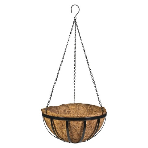 CobraCo™ English Flat Metal Style Hanging Basket