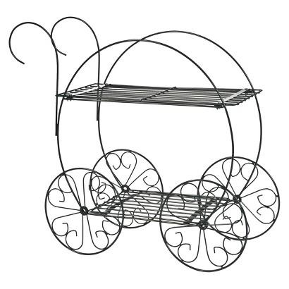 CobraCo™ 2 Tier Garden Cart Plant Stand