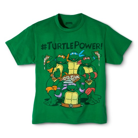 Teenage Mutant Ninja Turtle Boys' Graphic Tee -  Kelly Green