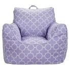 Circo™  Bean Bag Chair with Removable Cover - Lavender Quatrefoil
