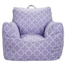 Bean Bag Chair Lavender Quatrefoil - Pillowfort™