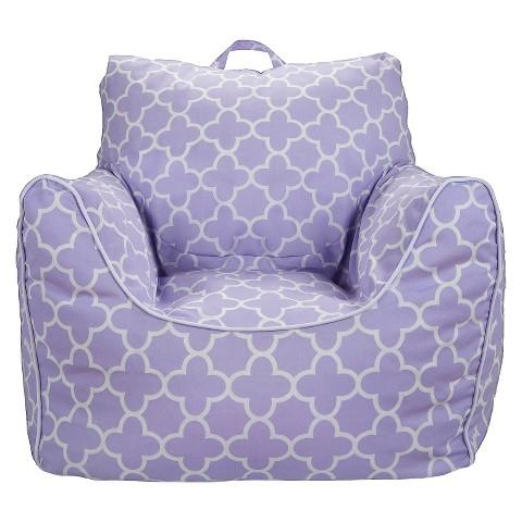 Bean Bag Chair Lavender Quatrefoil Pillowfort Target