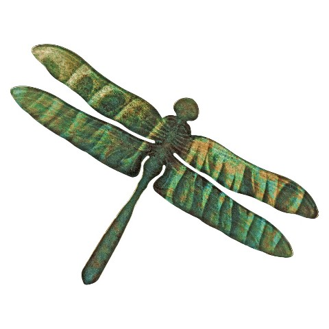 3-D Reflective Wall Art Dragonfly