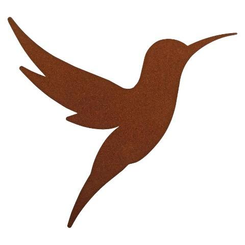 3-D Metal Wall Art Hummingbird