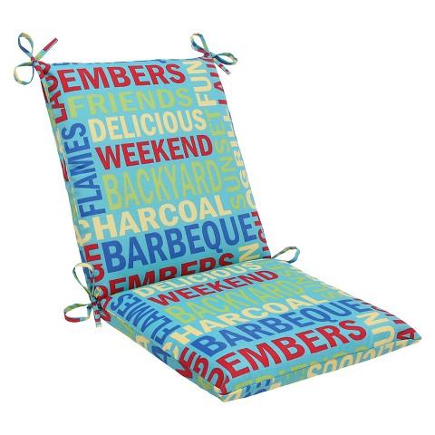 Outdoor Square Edge Chair Cushion - Grillin