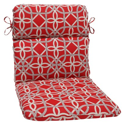 Outdoor Round Edge Chair Cushion  - Keene
