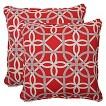 Outdoor 2-Piece Square Throw Pillow Set  - Keene