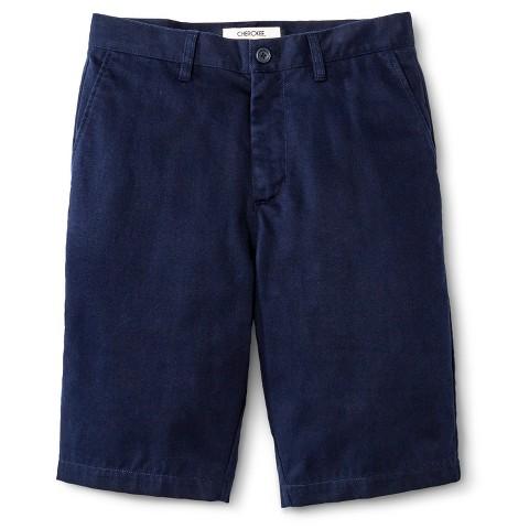 Cherokee® Young Mens' School Uniform Flat Front Short