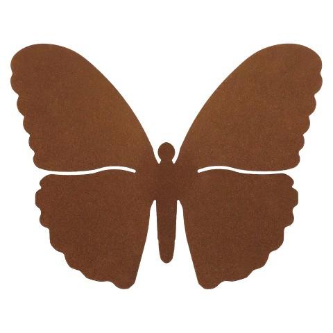 3-D Metal Wall Art Butterfly