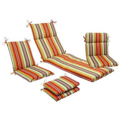 Outdoor Cushion & Pillow Collection Roxen Stripe Tar