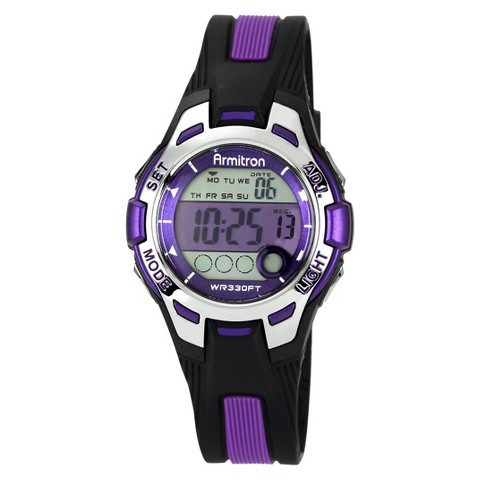 Women's Armitron Sport Digital Chronograph Watch - Purple